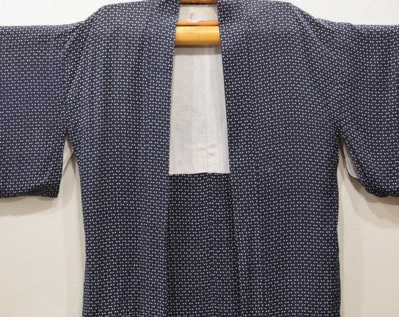Kimono Japanese Blue Dot Kimono