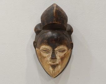 African Mask Punu Tribe Female Mask Gabon