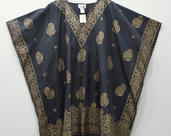 Shirt Black Gold Dashiki