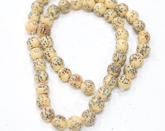Beads Philippines Spotted Betel Nut Beads 9mm