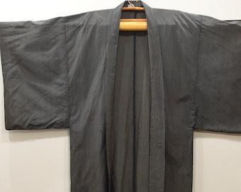 Kimono Japanese Black Stripe Kimono