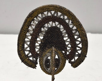 Papua new Guinea Mask Abelam Yam Woven Headdress Ceremonial Harvest Mask