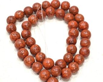 Beads Philippine Orange Betelnut Beads 10mm
