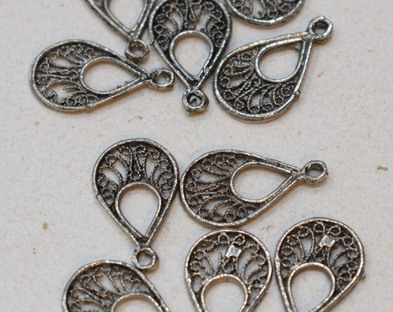 Beads Silver Bedouin Pendants Morocco 22mm