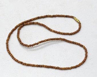 Necklace Sandalwood 3mm Sandalwood Necklace