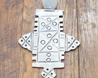 Cross Ethiopian Sterling Silver Coptic Cross Pendant