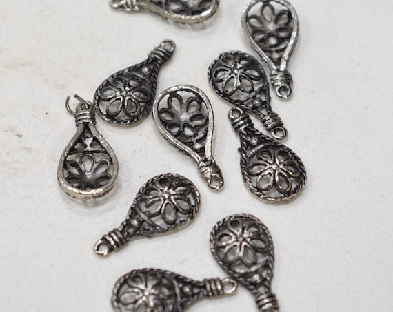 Beads Moroccan Silver Bedouin Components 24mm
