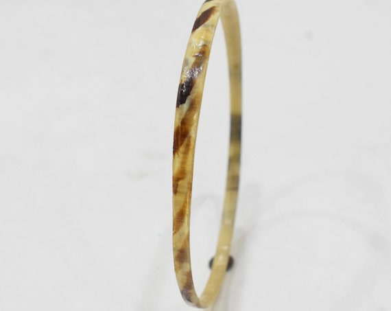 Bracelet Philippine Horn Large Bangle Bracelet