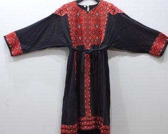 Dress Vintage Afghani Kutchi Handmade Embroided Dress