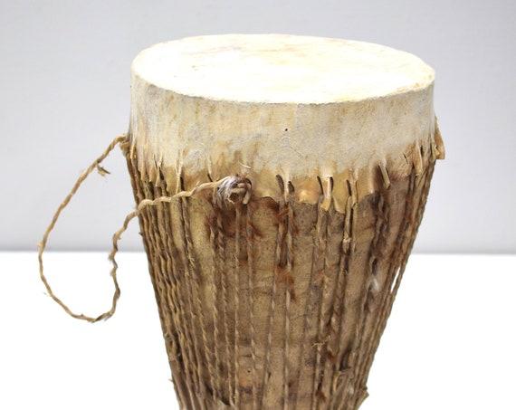 African Drum Double Sided Hide Kenya Drum