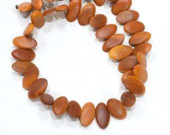 Beads Philippine Oval Redwood Beads