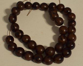 Beads Philippines Buri Nut Round Buri Nut Beads
