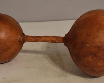 African Natural Gourd Shaker Rattle West African Musical Dance Shaker