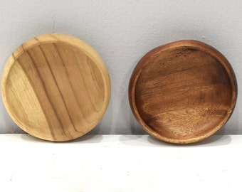 Philippines Assorted Round Wood Bowls