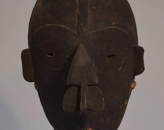 Papua New Guinea Mask Lewa Vokeo Island Wood Male Initiation Ceremony Mask