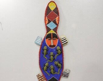 African Yoruba Tribe Beaded Belt Sash