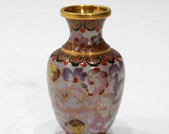 Chinese Cloisonne' 1000 Flower Vase