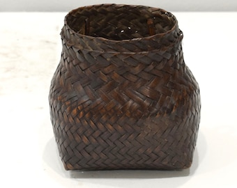 Basket Philippines Ifugao Woven Snail Basket