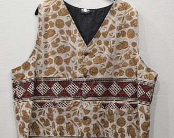 Vest India Hand Printed Cotton Vest