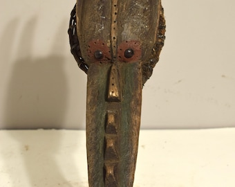 Mask African Banda Guinea-Bissau Animal Mask