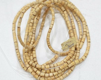 Beads Philippine Natural Wood Heishi 3-6mm