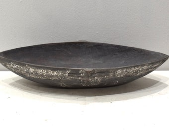 Bowl Papua New Guinea Siassi Carved Clan Bowl