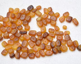 Beads Philippine Brown Horn Chip Beads 5-9mm