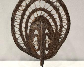 Papua new Guinea Mask Abelam Yam Woven Harvest Mask