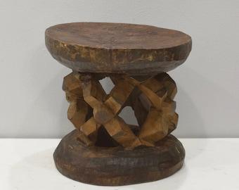 African Stool Balimeke Wood Cameroon Stool
