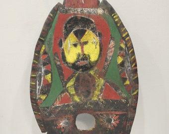 Papua New Guinea Abelam Balsa Wood Headdress