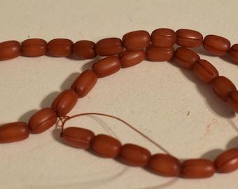 Beads Philippine Rust Buri Nut Beads 10mm