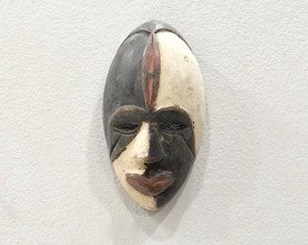 African Mask Punu Tribe Male Passport Mask Gabon