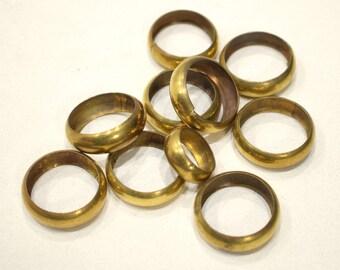 Beads Brass Metal Round Rings 20-28mm