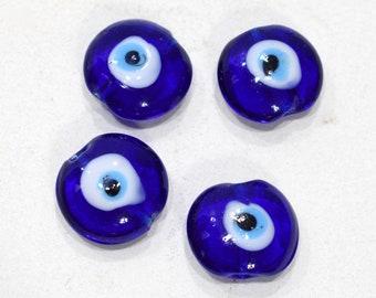 Beads Mediterranean Evil Eye Beads 18-20mm