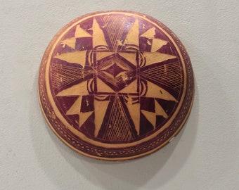 African Gourd Abstract Design Burkina Faso