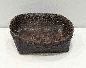 Basket Rattan Ifugao Philippines Woven Rattan Basket