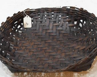 Basket Philippines Ifugao Woven Plate Bowl Rattan Ifugao Rattan Plate Woven Basket