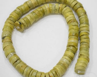 Beads Chinese Yellow Turquoise Beads 10mm - 11mm