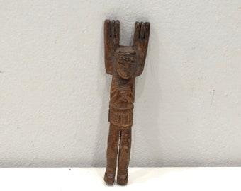 Slingshot Mayan Carved Wooden Jesus Guatemala Slingshot