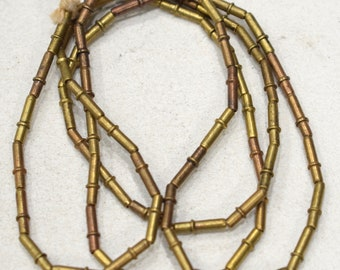 Beads Indonesian Brass Stick Beads 12mm