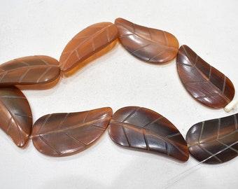 Beads Philippine Buff Horn Pendants 40mm