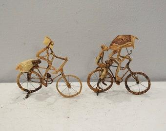 African Banana Fiber Bicycle Riders Kenya