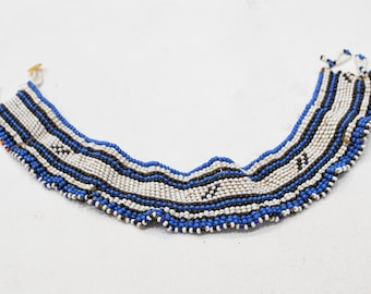 African Xhosa Beaded Chocker Necklace