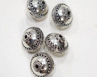 Beads Chinese Silver Round Beads 17mm