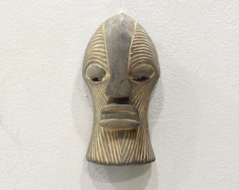African Mask Songye Tribe Passport Mask Congo