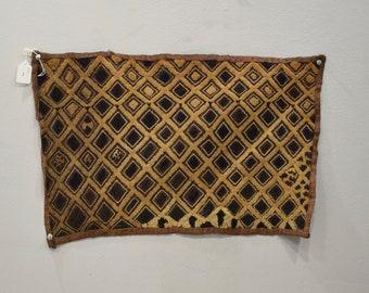 Kuba Cloth African Natural Woven Raffia