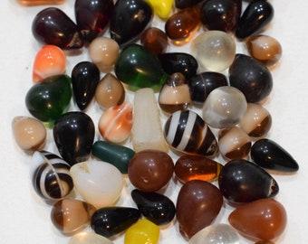 Beads African Assorted Wedding Glass  Beads 12-15mm