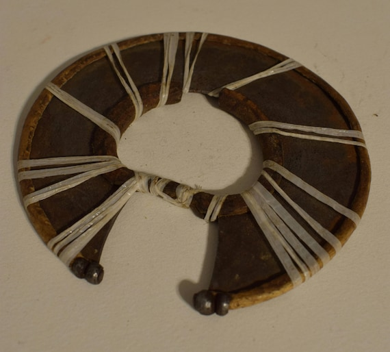 African Vintage Turkana Wrist Knife Metal Circular Wrist African Knife