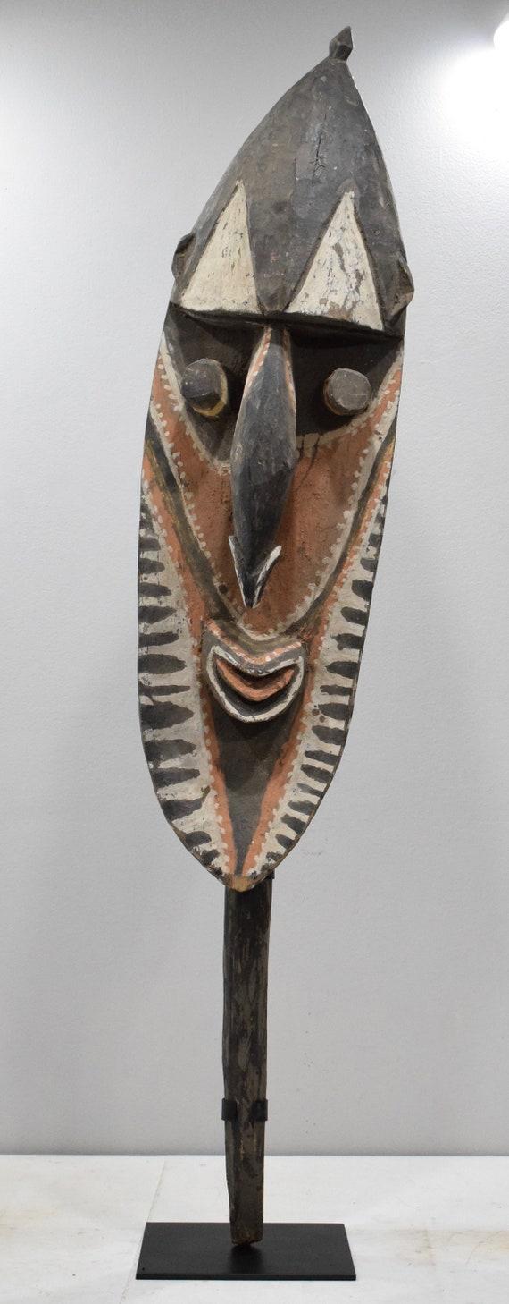 "Papua New Guinea Yena Yam Spirit Wood Figure 54"""