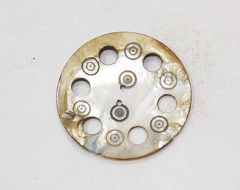 Button Mother of Pearl Middle Eastern Tany Button